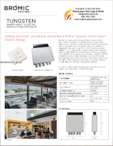 Tungsten Electric Wireless Dimmer Control