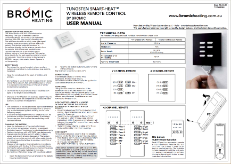 Tungsten Smart Heat Wireless Remote Control Manual