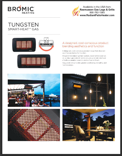 Download Tungsten Gas Heater Product Brief